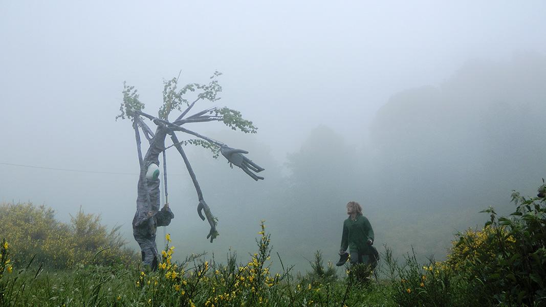 Hiking across Mountains at Valle degli Elfi